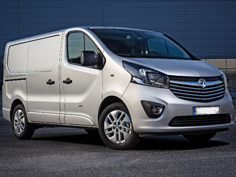 Vauxhall Vivaro Car Hire Deals