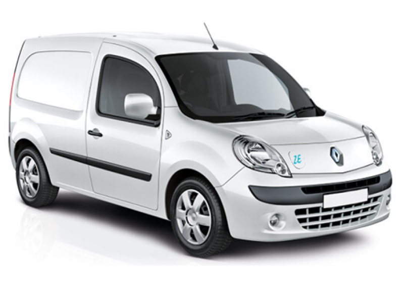 Renault Kangoo Maxi Electric Van Car Hire Deals